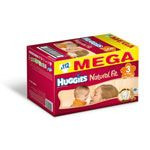 HUGGIES Natural Fit T3 4 9 kg MEGA BOX de 112 couches