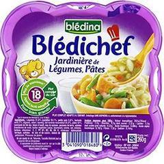 Blédichef : Jardinière de légumes et pâtes