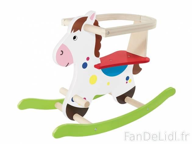 Cheval à bascule en bois Playtive LIDL :