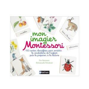 Livre Mon Imagier Montessori Nathan Avis Et Comparateur De