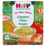 Légumes Pâtes Poulet 250g dès 12 mois