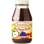 BIO Jus Pommes raisins 20 cl dès 4 mois