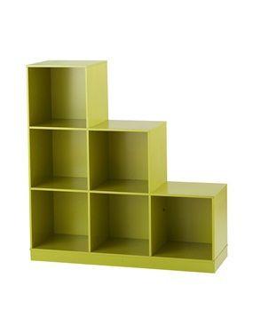 meuble rangement 6 casiers vertbaudet