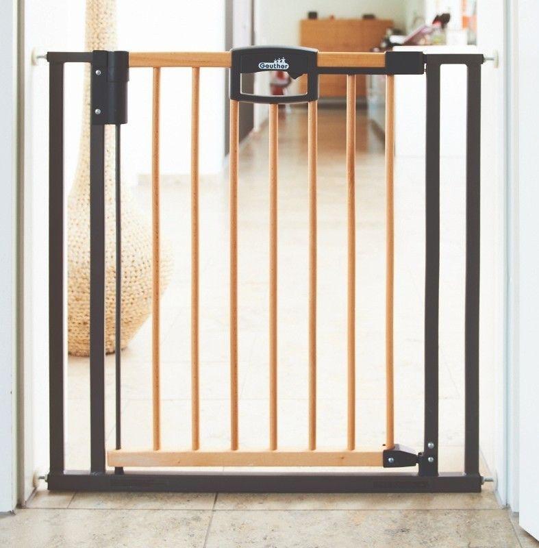 barri re de s curit easylock wood bois m tal geuther avis. Black Bedroom Furniture Sets. Home Design Ideas