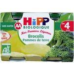 Pot brocolis pomme de terre 4 mois
