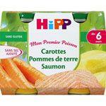 Carottes pommes de terre saumon 190 g dès 6 mois
