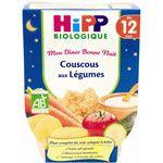 Couscous aux légumes 220 g dès 12 mois