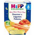 Douceur de légumes polenta 190 g dès 8 mois