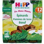 Epinards Pommes de terre Boeuf 250g dès 12 mois