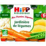 Jardinière de Légumes 190g dès 6 mois