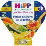 Petites lasagnes aux légumes 260 g dès 18 mois