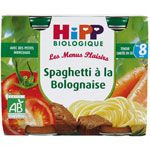 Spaghetti à la bolognaise 190 g dès 8 mois