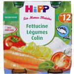 Fettucine Colin Légumes à la CrEme 250g dès 12 mois