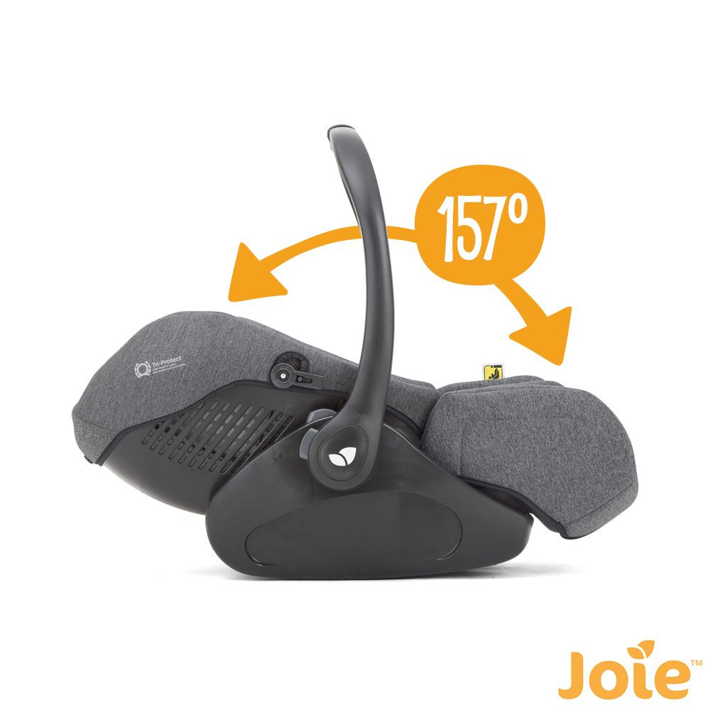 Si/ège auto coque I-size I-Level grey Flannel JOIE groupe 0+