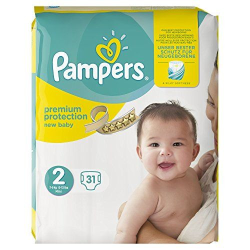 Couches Premium Protection New Baby Taille 2 Mini 36kg Pampers
