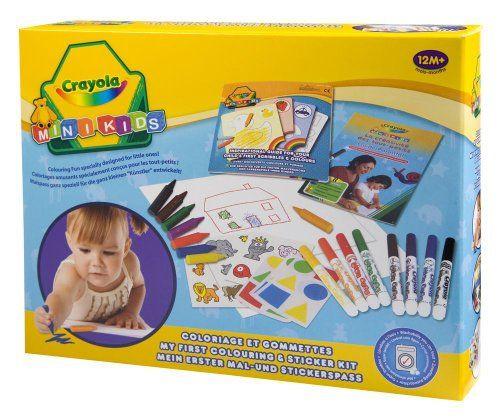 Kit De Loisir Creatif Coloriage Et Gommettes Crayola Avis