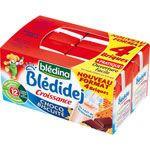 BLEDIDEJ Croissance choco biscuite 4x250 ml dès 12 mois