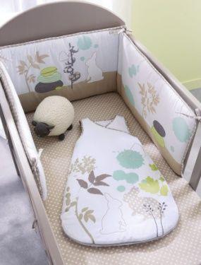 vertbaudet tour de lit bébé Tour de lit bebe brode Pétales VERTBAUDET : Avis vertbaudet tour de lit bébé