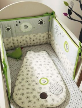 tour de lit p tit nid bebe vertbaudet avis. Black Bedroom Furniture Sets. Home Design Ideas