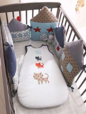 tour de lit modulable bebe miaou vertbaudet avis. Black Bedroom Furniture Sets. Home Design Ideas