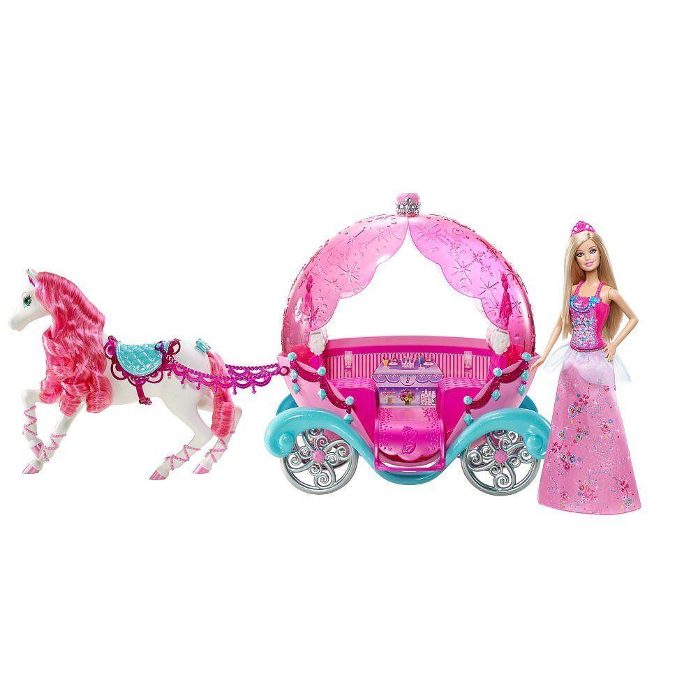 Carrosse conte de f es barbie mattel avis - Carrosse barbie ...