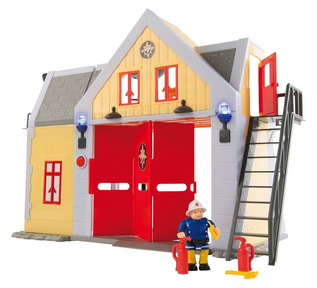 Caserne sam le pompier smoby avis - Dessin caserne pompier ...