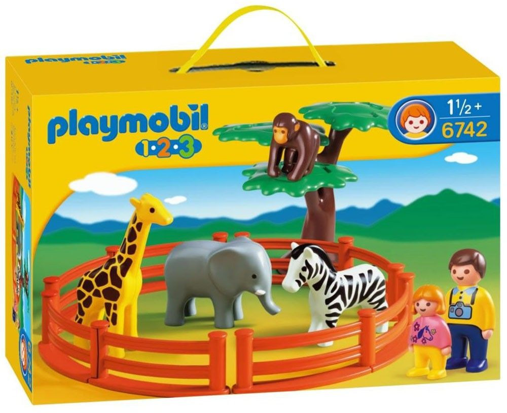 playmobil 1 2 3 zoo playmobil avis. Black Bedroom Furniture Sets. Home Design Ideas