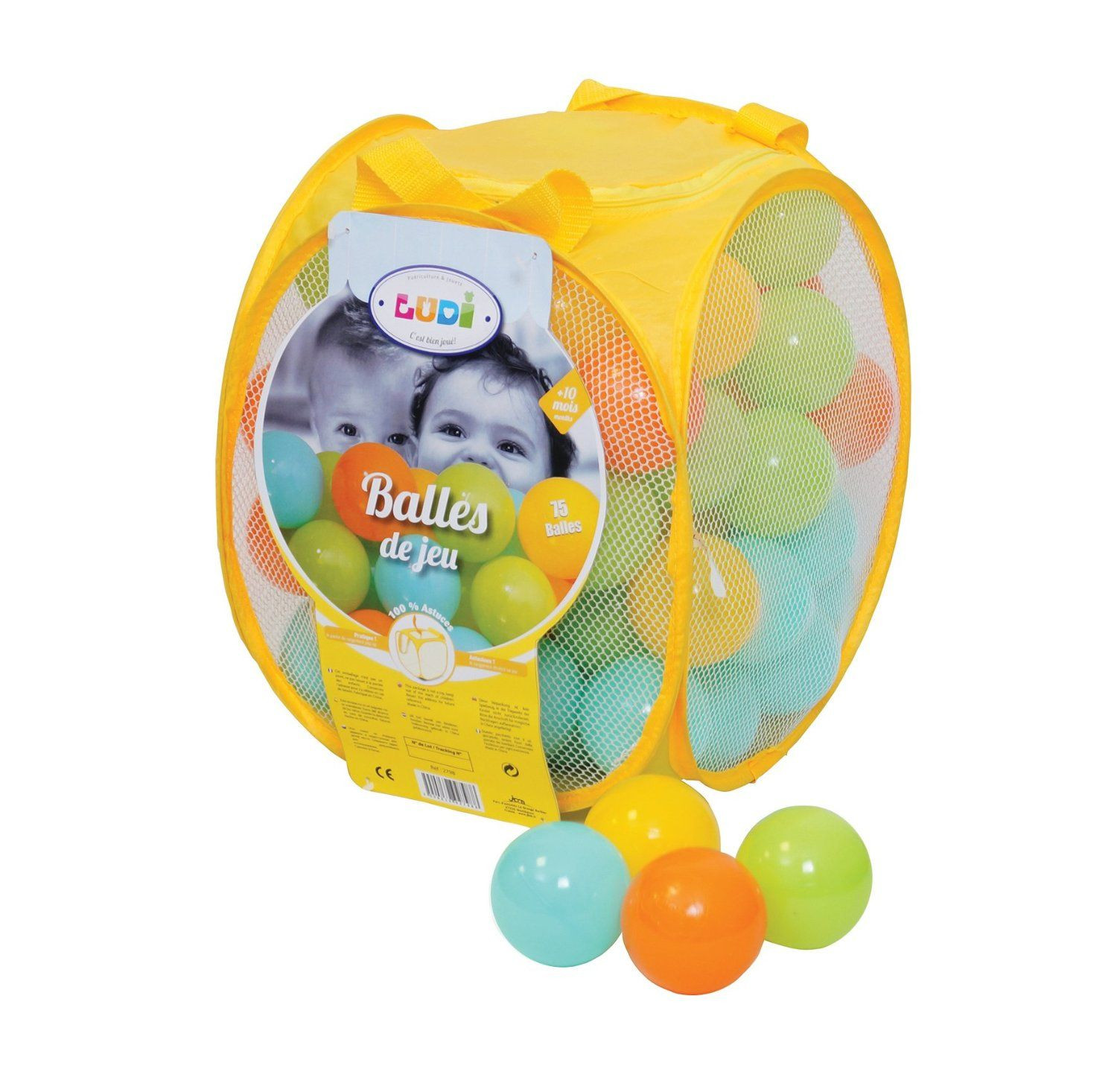 Assortiment mixte de balles de jeu ludi avis for Piscine a balle ludi