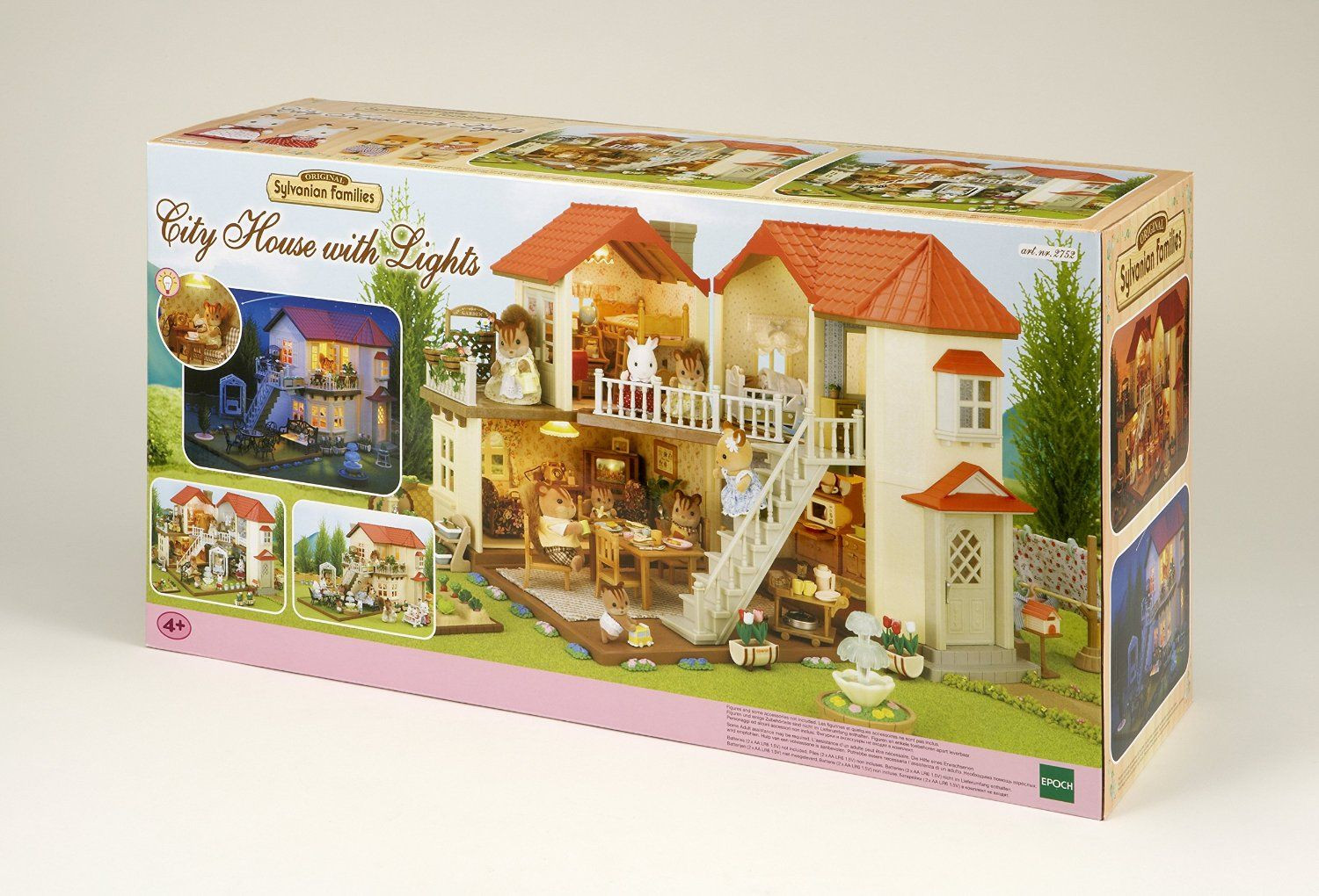 Grande maison clair e tradition sylvanian family avis for Maison tradition