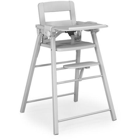 Chaise haute en bois extra pliante at4 avis for Chaise haute design bois
