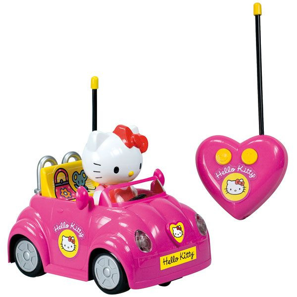 voiture radiocommand e hello kitty lansay avis. Black Bedroom Furniture Sets. Home Design Ideas