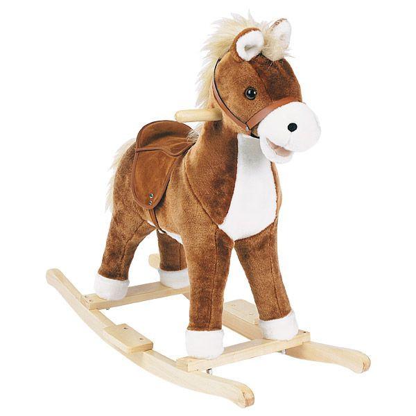 Petit cheval à bascule musical HISTOIRE D'