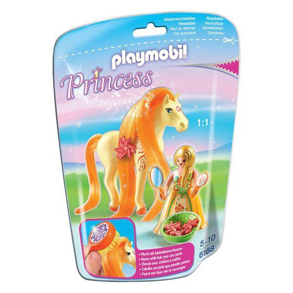 Princesse Mimosa avec cheval à coiffer PLAYMOBIL : Avis et ...