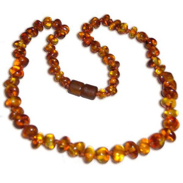 collier perle d'ambre
