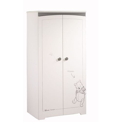 Armoire winnie portes with chambre sauthon teddy for Chambre bb sauthon