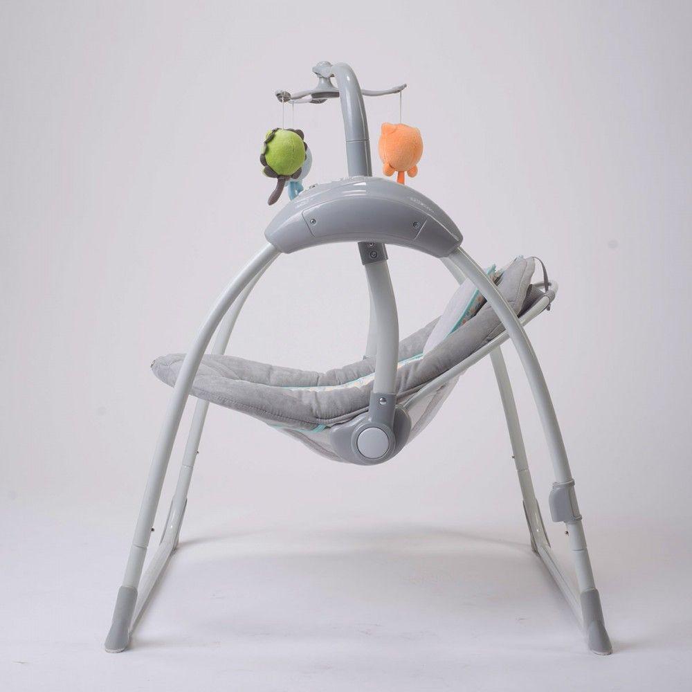 balancelle transat lectrique lilou 2 bebe2luxe avis. Black Bedroom Furniture Sets. Home Design Ideas