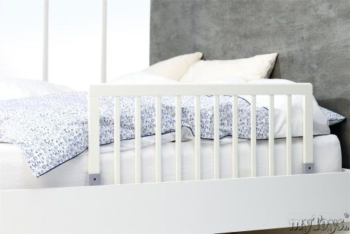 barri re de s curit pour lit en bois 45 x 90 cm baby dan avis. Black Bedroom Furniture Sets. Home Design Ideas