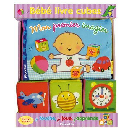 Bébé Livre Cubes - Mon Premier Imagier Editions Piccolia : Avis