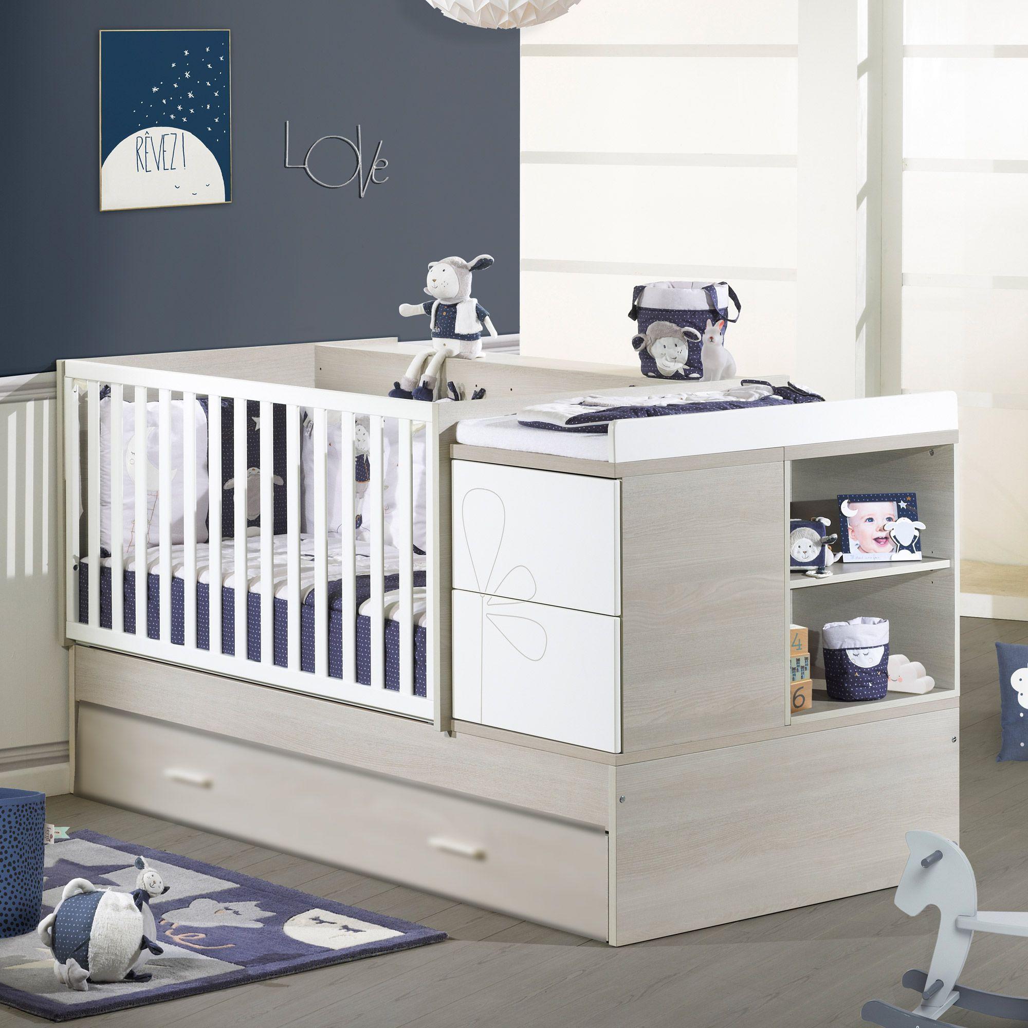 lit transformable 70x140 cm sauthon avis. Black Bedroom Furniture Sets. Home Design Ideas