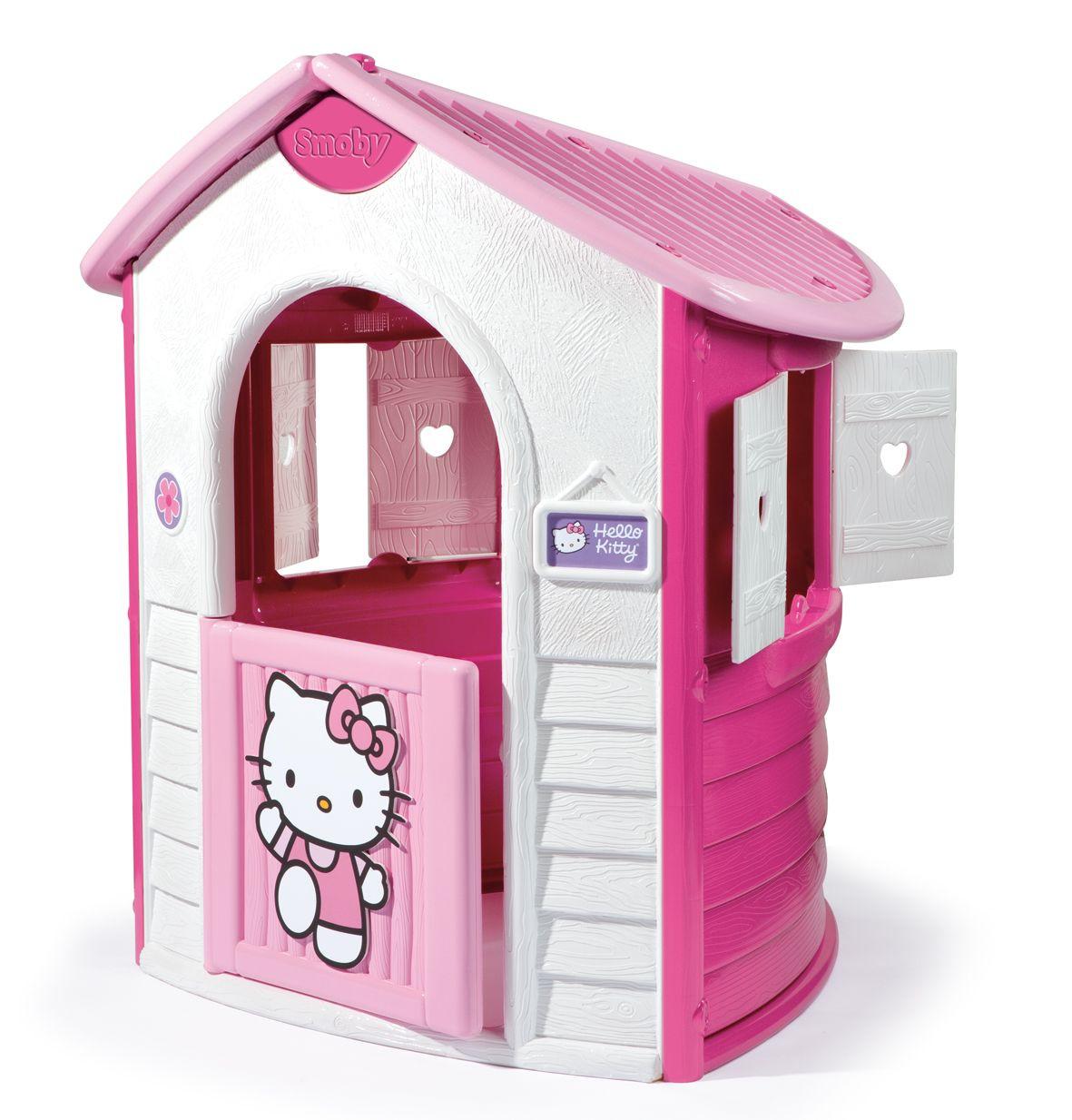 cabane de jardin hello kitty smoby avis. Black Bedroom Furniture Sets. Home Design Ideas