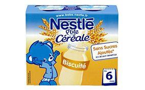 P'tite Céréale Biscuité 2x250ml