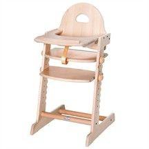 chaise haute ergonomique volutive nature decouvertes avis. Black Bedroom Furniture Sets. Home Design Ideas