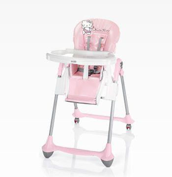 Chaise haute Hello Kitty BREVI : Avis et comparateur de prix