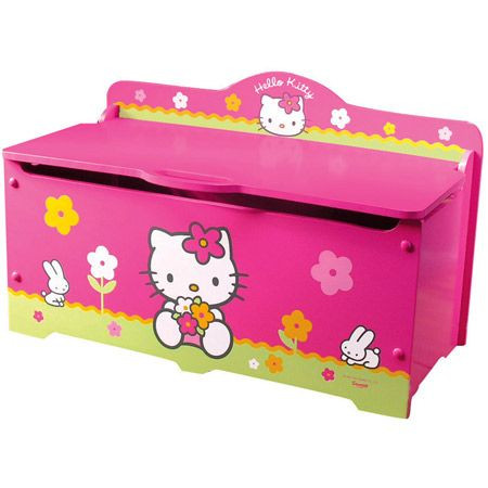 coffre jouets hello kitty fun house avis. Black Bedroom Furniture Sets. Home Design Ideas