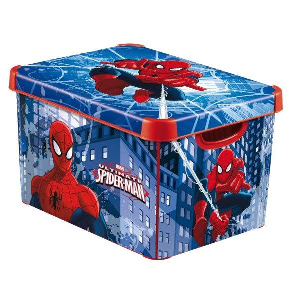 Boîte Déco L Spiderman CURVER : Avis