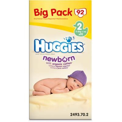 Huggies Newborn T2 3 6 Kg Value Box De 100 Couches Huggies Avis