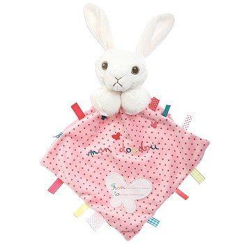 Doudou lapin velours super doux achat vente doudous pas cher jouet neuf