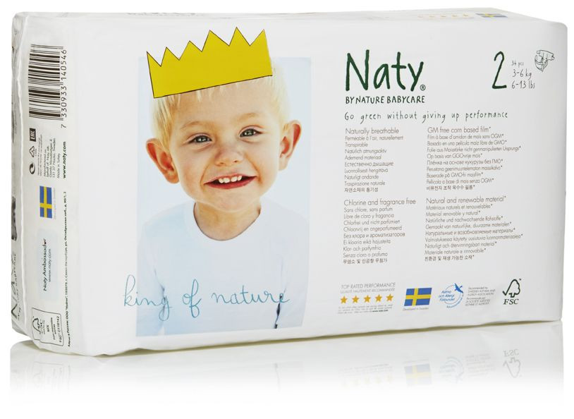 Couches Naty écologiques Taille 4 Nature Babycare Avis