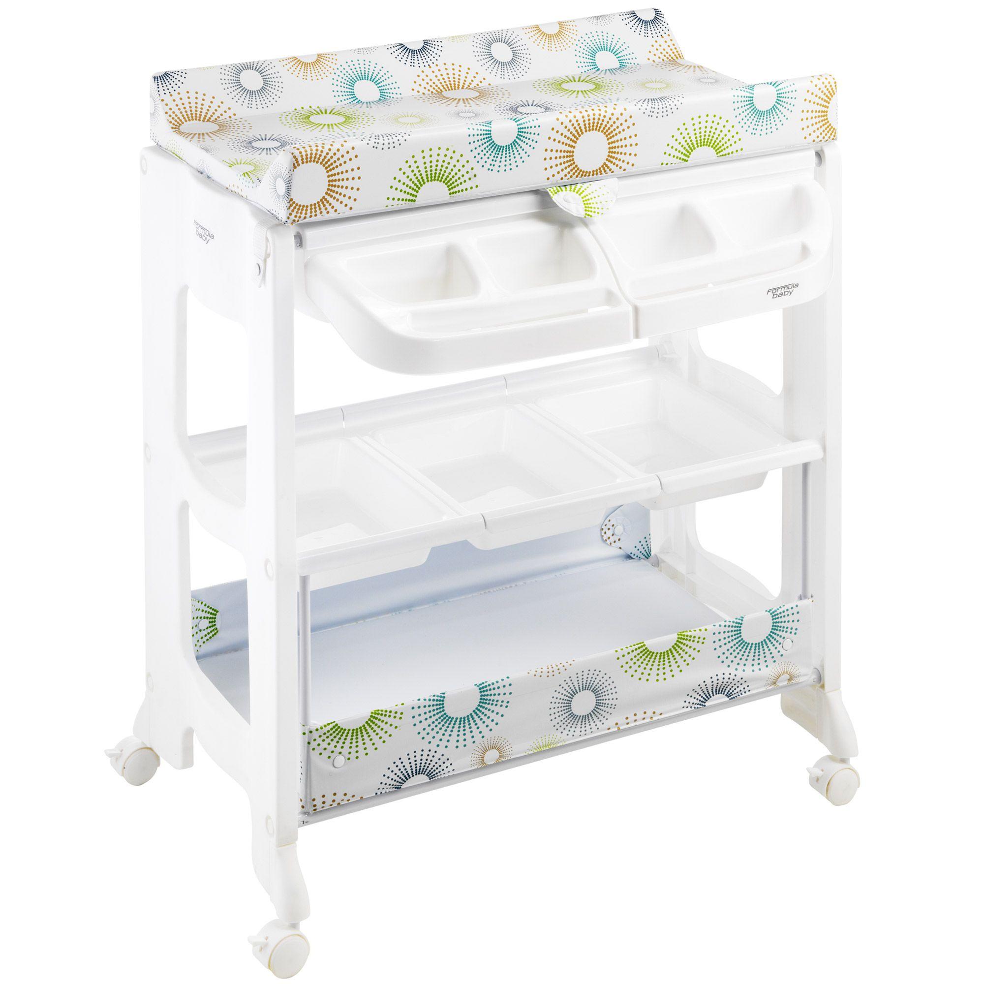 Table langer galaxy formula baby avis et comparateur - Table a langer en bois avec baignoire ...