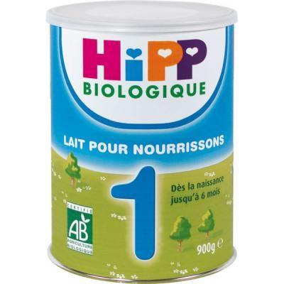 meilleur lait infantile bio